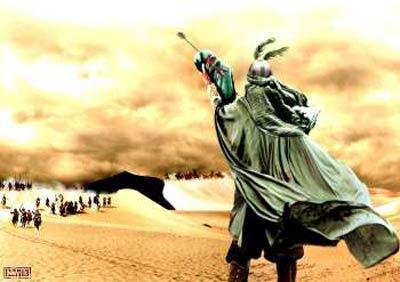 شب دهم -مذاکره نکردن امام حسین با یزید